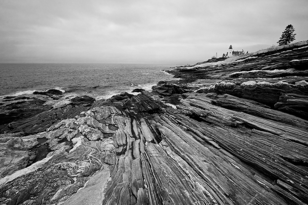Pemaquid Point , coastal Maine USA