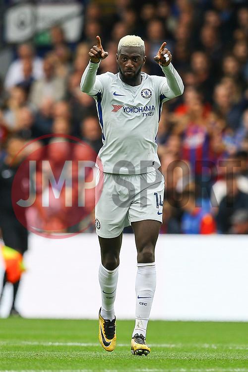 Goal, Tiemoue Bakayoko of Chelsea scores the equaliser, Crystal Palace1-1 Chelsea - Mandatory by-line: Jason Brown/JMP - 14/10/2017 - FOOTBALL - Selhurst Park - London, England - Crystal Palace v Chelsea - Premier League