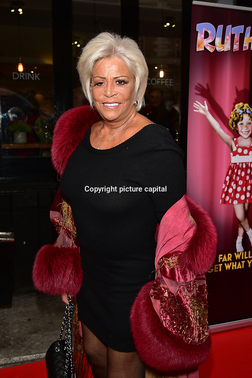 Celebrities arrives at Ruthless! The Musical - Arts Theatre opening night on 27 March 2018  at Arts Theatre, London, UK.