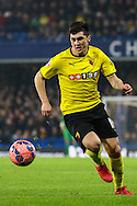 Fernando Forestieri of Watford during the FA Cup match at Stamford Bridge, London<br /> Picture by David Horn/Focus Images Ltd +44 7545 970036<br /> 04/01/2015