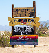 Slab City Informational Signage