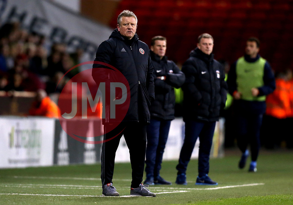 Sheffield United manager Chris Wilder - Mandatory by-line: Robbie Stephenson/JMP - 05/04/2017 - FOOTBALL - Brammall Lane - Sheffield, England - Sheffield United v Coventry City - Sky Bet League One