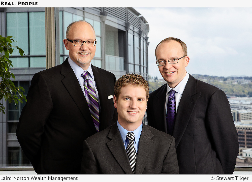 Group portrait of Laird Norton Wealth Management executives.