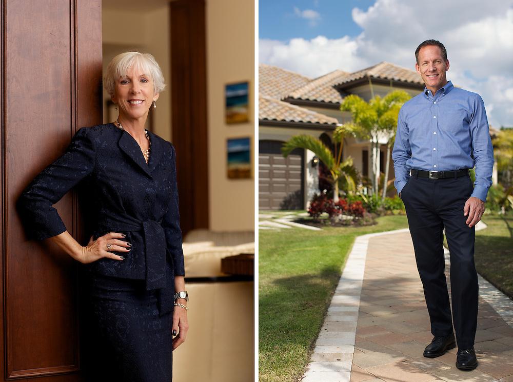 Bank Executive.<br /> <br /> Politician and real estate Developer Gary Aubuchon.