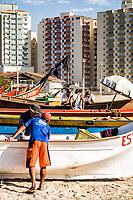Praia Central. Barra Velha, Santa Catarina, Brasil.