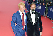 Jason Clarke and director Baltasar Kormakur attends the 41st Deauville American Film Festival Opening Ceremony on September 4, 2015 in Deauville, France.