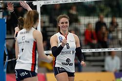 20190112 NED: Sliedrecht Sport - VC Sneek: Sliedrecht<br />Fleur Savelkoel (6) of Sliedrecht Sport <br />©2019-FotoHoogendoorn.nl / Pim Waslander