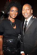 l to r: Darlene Gillard and Gary Lambert, President of B.R.A.G at The B.R.A.G 39th Annual Scholarship and Awards Dinner Gala held at Cipriani Wall Sreet on October 23, 2009 in New York City...BRAG mission is to be the leading provider of resources and development suppoert that empowers African Americans to reach their highiest professional potential in retail and related industries
