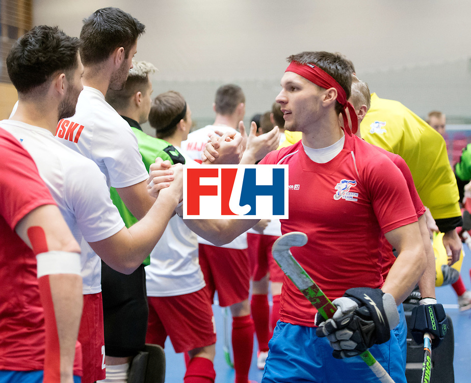 BERLIN - Indoor Hockey World Cup<br /> Czech Republic - Poland<br /> foto: Line Up<br /> WORLDSPORTPICS COPYRIGHT FRANK UIJLENBROEK