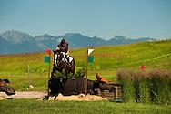 Eventing (equestrian triathlon), Cross Country event, The Event at Rebecca Farms, Kalispell, Montana, Laura Penikett