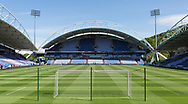 A general view of the stadium before the Premier League match at the John Smiths Stadium, Huddersfield<br /> Picture by James Wilson/Focus Images Ltd 07522 978714<br /> 13/05/2018