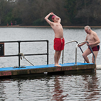 Icy Serpentine Swim - Hyde Park