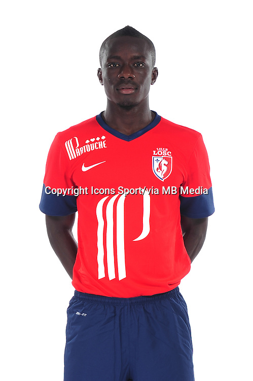 Idrissa GUEYE - 10.09.2013 - Photo officielle - Lille - Ligue 1 <br /> Photo :  Icon Sport