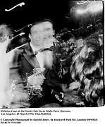 Nicholas Cage at the Vanity Fair Oscar Night Party Mortons,  Los Angeles. 25 March 1996. Film.96205f26<br /> © Copyright Photograph by Dafydd Jones<br /> 66 Stockwell Park Rd. London SW9 0DA<br /> Tel 0171 733 0108