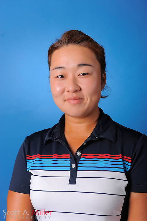 Alice Kim during a portrait session prior to the second stage of LPGA Qualifying School at the Plantation Golf and Country Club on Sept. 24, 2011 in Venice, FL...©2011 Scott A. Miller