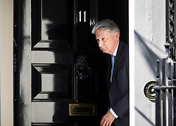 © Licensed to London News Pictures. 02/07/2018. London, UK. Chancellor of the Exchequer Philip Hammond leaves number 11 Downing Street. Photo credit: Peter Macdiarmid/LNP
