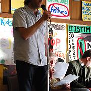 Dan Sordyl speaks at Detroit Incinerator Rally<br /> Detroit Incinerator rally held at the First Unitarian Church of Detroit on May 13, 2008.