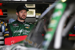 October 5, 2018 - Dover, Delaware, United States of America - Ryan Truex (11) hangs out in the garage during practice for the Bar Harbor 200 at Dover International Speedway in Dover, Delaware. (Credit Image: © Justin R. Noe Asp Inc/ASP via ZUMA Wire)
