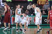 DESCRIZIONE : Treviso Lega A 2011-12 Benetton Treviso Umana Venezia<br /> GIOCATORE : Massimo Bulleri Sani Becirovic<br /> SQUADRA : Benetton Treviso Umana Venezia<br /> EVENTO : Campionato Lega A 2011-2012 <br /> GARA : Benetton Treviso Umana Venezia<br /> DATA : 08/01/2012<br /> CATEGORIA : Fair Play<br /> SPORT : Pallacanestro <br /> AUTORE : Agenzia Ciamillo-Castoria/G.Contessa<br /> Galleria : Lega Basket A 2011-2012 <br /> Fotonotizia : Treviso Lega A 2011-12 Benetton Treviso Umana Venezia<br /> Predfinita :