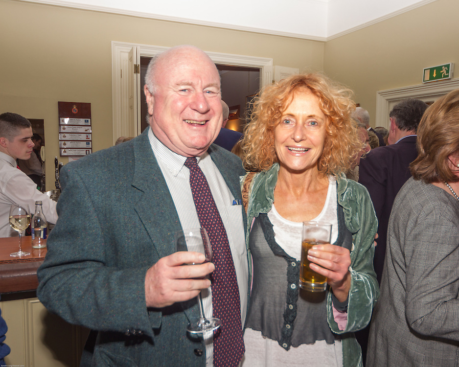 (l to r) Alan and Mary Crosbie at the Classic Dragon Reunion in the Royal St George Yacht Club (Dún Laoghaire) where a large number of current and classic Dragon sailors gathered to celebrate the long (and continued) success of the class.
