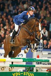 Brinkman Tom -Eurocommerce Vaillant<br /> KWPN Hengstenkeuring - 's Hertogenbosch 2008<br /> Photo © Hippo Foto