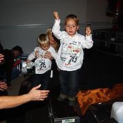 CD presentatie Frans Bauer, Oma en kleinkinderen Christiaan en Jan