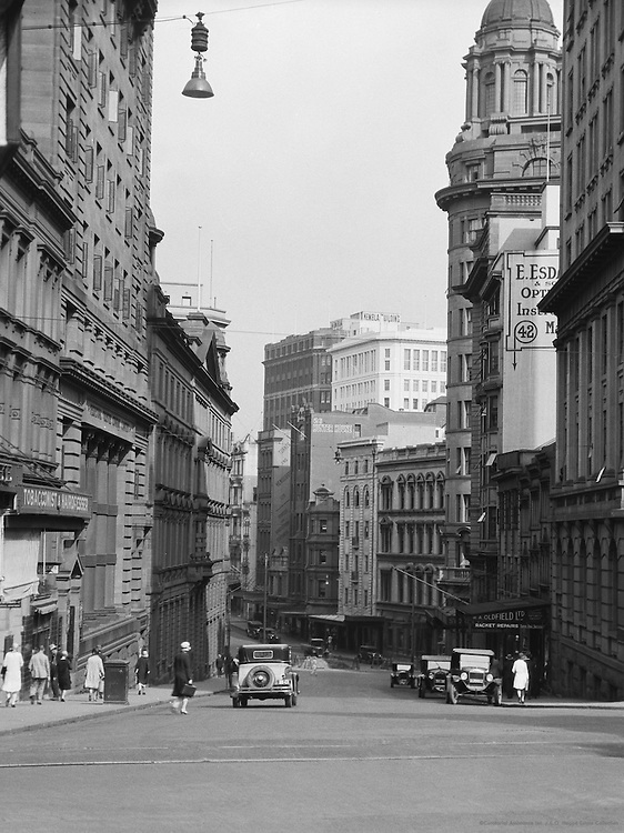 Skyscrapers, Hunter Street, Sydney, Australia, 1930
