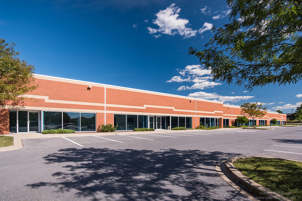 Architectural image of Cromwell Business Park in Glen Burnie Maryland by Jeffrey Sauers of Commercial Photographics, Architectural Photo Artistry in Washington DC, Virginia to Florida and PA to New England