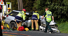 Auckland-Helicopters ferries injured after head on crash