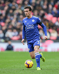 Ben Chilwell of Leicester City on the ball - Mandatory by-line: Arron Gent/JMP - 10/02/2019 - FOOTBALL - Wembley Stadium - London, England - Tottenham Hotspur v Leicester City - Premier League