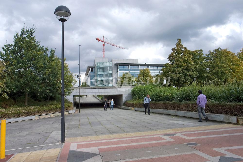 Pedestrian subway Milton Keynes UK