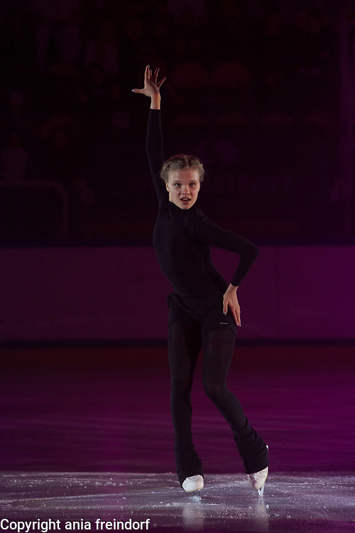 International Ice Skating Gala, Courchevel, France, 20 July 2017, Polina Ustinkova, Member of National Team, Swiss,