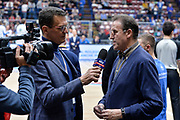 DESCRIZIONE : Beko Final Eight Coppa Italia 2016 Serie A Final8 Quarti di Finale Vanoli Cremona - Dinamo Banco di Sardegna Sassari<br /> GIOCATORE : Pietro Colnago Carlo Recalcati<br /> CATEGORIA : Intervista Before Pregame<br /> SQUADRA : Sky Sport TV<br /> EVENTO : Beko Final Eight Coppa Italia 2016<br /> GARA : Quarti di Finale Vanoli Cremona - Dinamo Banco di Sardegna Sassari<br /> DATA : 19/02/2016<br /> SPORT : Pallacanestro <br /> AUTORE : Agenzia Ciamillo-Castoria/L.Canu
