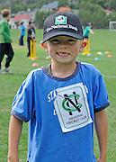 Cricket fan looks on at the National Bank's Cricket Super Camp , University oval, Dunedin, New Zealand. Thursday 2 February 2012 . Photo: Richard Hood photosport.co.nz
