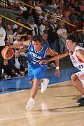 BORMIO 01 AGOSTO 2007<br /> BASKET NAZIONALE ITALIANA<br /> ITALIA-CROAZIA<br /> NELLA FOTO: BELINELLI<br /> FOTO CIAMILLO-CASTORIA