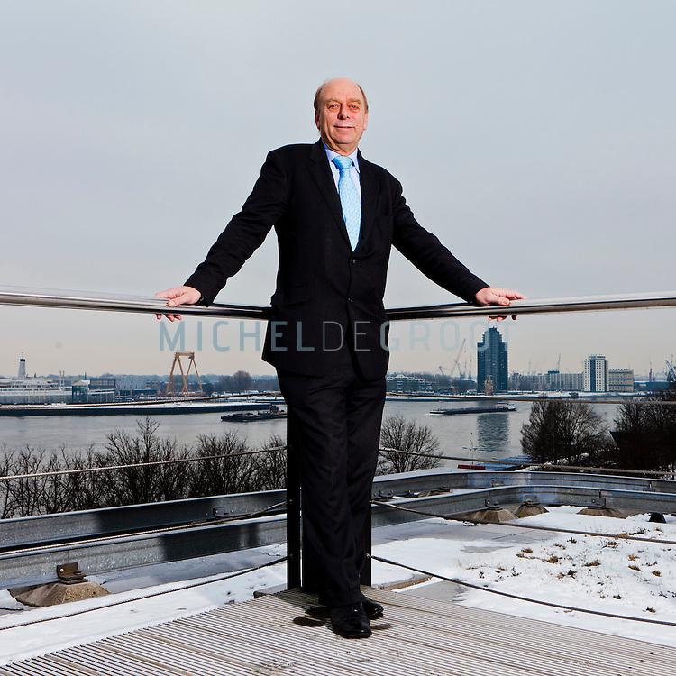 Dirk van Slooten, managing director van Vopak in Rotterdam