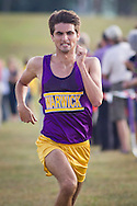 Warwick, New York - Warwick hosts a high school cross country meet with Cornwall, Pine Bush and Washingtonville at Sanfordville Elementary School on Sept. 30, 2014. D.J. Peterson of Warwick won the boys' race.