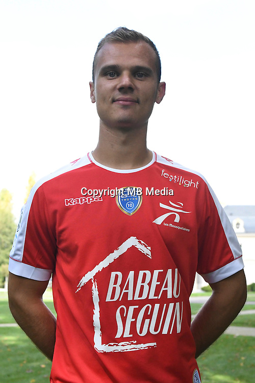 Erwin Zelazny during the photocall of Troyes Estac for season of ligue 2 on September 3rd 2016 in Troyes<br /> Photo : Philippe Le Brech / Icon Sport