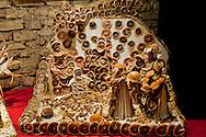 """Roma 22 Novembre 2012.Inaugurata l'esposizione intermazionale 100 Presepi.Il presepe di agrumi della scuola elementare """"F. Ulivi""""  (Lazio).Rome November 22 st 2012  .Inaugurated the exhibition intermazionale 100 Nativity Scenes.The crib citrus, elementary school  """"F. Ulivi""""  (Lazio)."""