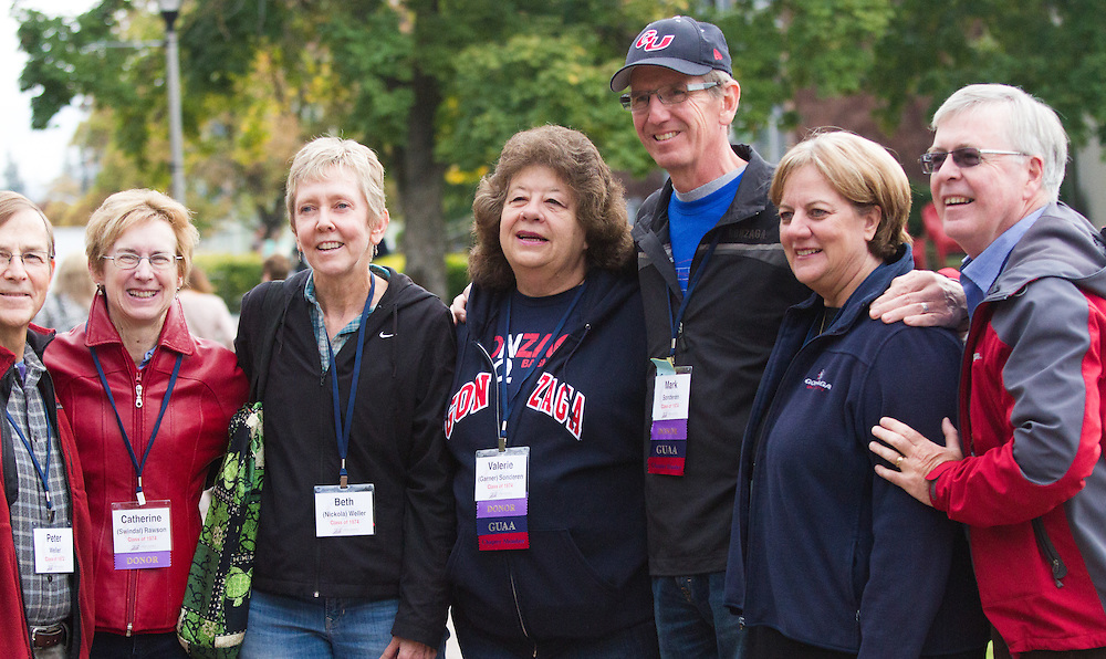 Fall Family Weekend 2014 (Photo by Gonzaga University)