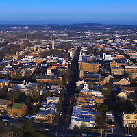 Aerial of Downtown Frederick Maryland from above Baker Park about 399 ft. Please select Shopping Cart Below to Purchase prints and gallery-wrapped canvases, magnets, t-shirts and other accessories