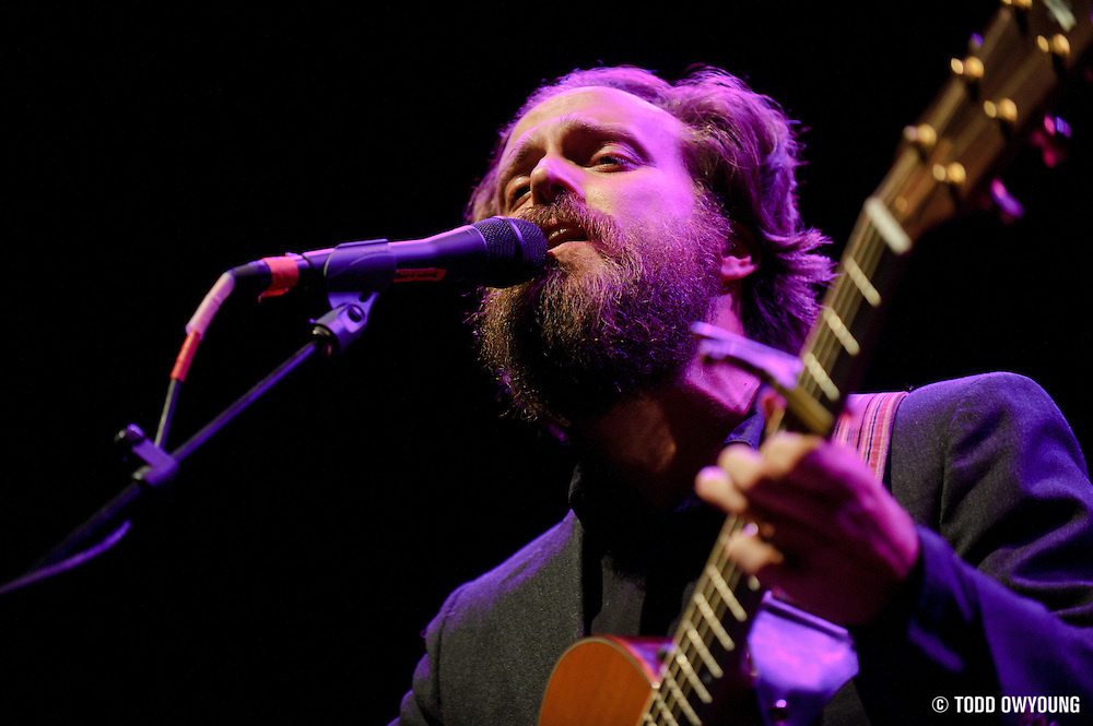 Photos of musician Sam Beam performing as Iron & Wine at the Pageant on November 13, 2010 in St. Louis, MIssouri.