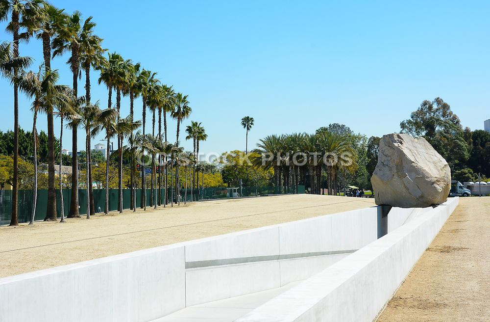 Michael Heizer's Levitated Mass Sculpture