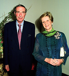 LORD & LADY FAIRHAVEN  at a reception in London on 26th March 1998.<br /> MGJ 46