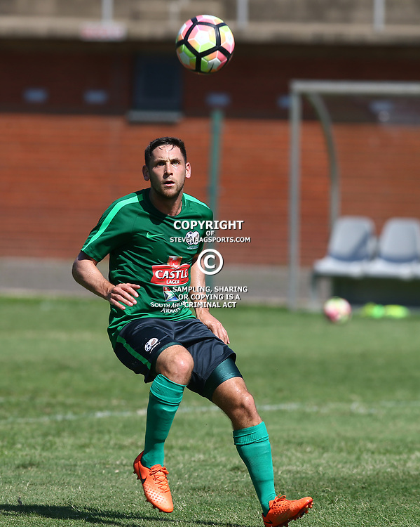 Dean Furman of (Bafana Bafana) South Africa during the Bafana Bafana South Africa and Golden Arrows warm up match at King Zwelithini Stadium in South of Durban,22 March 2017 (Steve Haag)