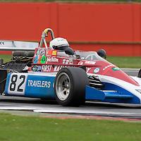 #82, Penske PC3, Chris Drake (GB), FIA Masters Historic Formula One, 31.07.2016, Silverstone Classic 2016, Silverstone, England. U.K.