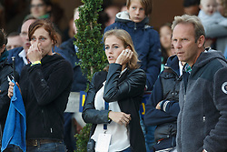 Melchior Judy Ann (BEL) supporting for boyfriend Ahlmann Christian (GER) - Casuality Z<br /> Final 7 years<br /> FEI World Breeding Jumping Championships for Young Horses - Lanaken 2014<br /> © Dirk Caremans