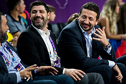 Hedo Turkoglu, former player of Turkey during basketball match between National Teams of Russia and Serbia at Day 16 in Semifinal of the FIBA EuroBasket 2017 at Sinan Erdem Dome in Istanbul, Turkey on September 15, 2017. Photo by Vid Ponikvar / Sportida