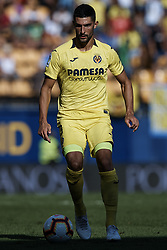 September 30, 2018 - Villarreal, Castellon, Spain - Alvaro of Villarreal CF in action during the La Liga match between Villarreal CF and Real Valladolid at Estadio de la Ceramica on September 30, 2018 in Vila-real, Spain  (Credit Image: © David Aliaga/NurPhoto/ZUMA Press)