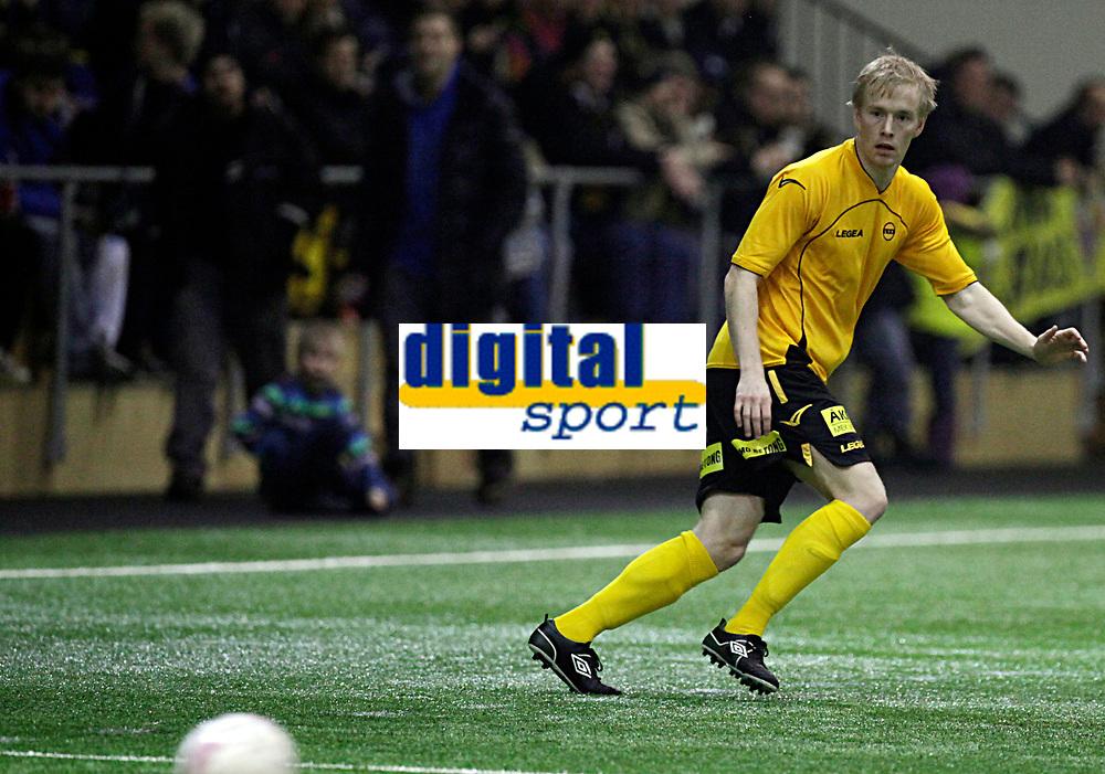 Fotball<br /> Treningskamp<br /> LSKhallen 27.01.12<br /> Lillestr&oslash;m - Sarpsborg 08<br /> ERIK MIDTGARDEN<br /> Foto: Eirik F&oslash;rde
